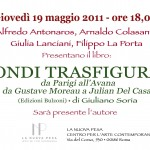 """""""Mondi Trasfigurati"""" a Roma il 19 maggio"""