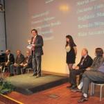 da sinistra: Carlo Carabba, Cesare Viviani, Ennio Cavalli, Arnaldo Colasanti, Quirino Principe, Beatrice Borghi, Pier Vincenzo Mengaldo